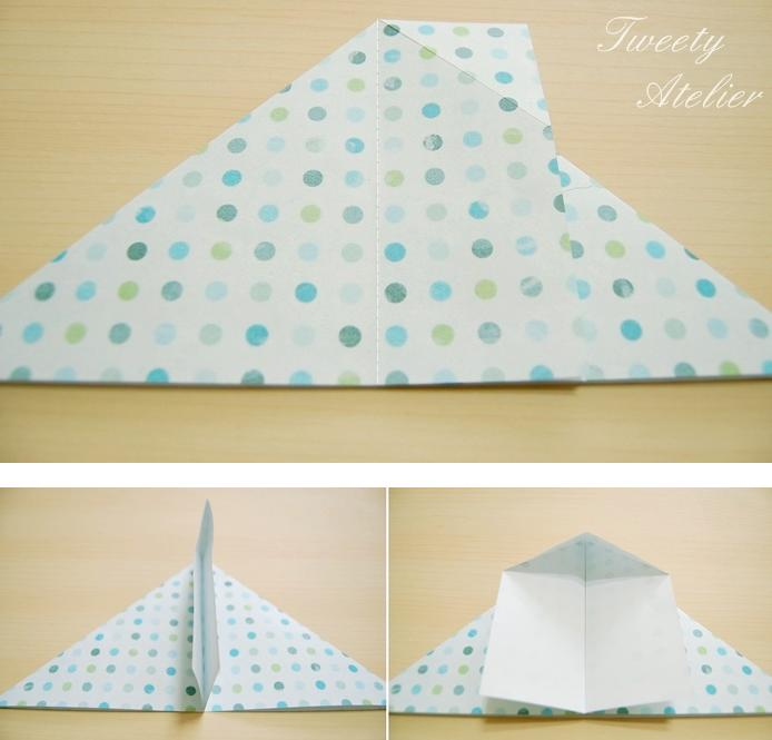 folding envelop for gift: tutorial - crafts ideas - crafts ...