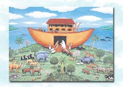 ковер Ноев Ковчег,картина,Ноев Ковчег,валяние