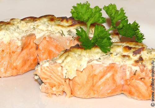 Рецепт с фото полностью. стейки или филе лосося (семги, форели) лимонный...