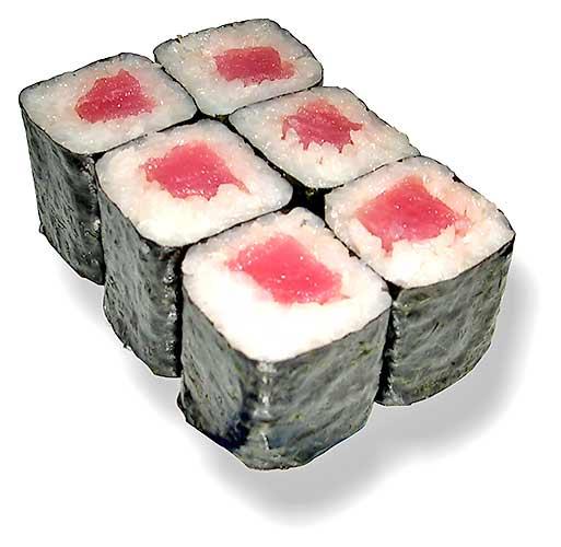 Как приготовить ролл с тунцом (Текка Маки Суши). девченки скажите по...