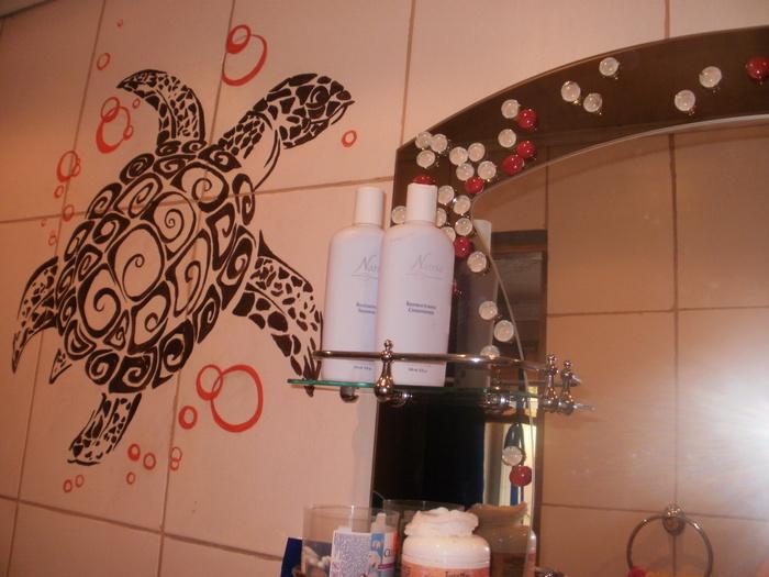 Как своими руками украсить ванную комнату фото