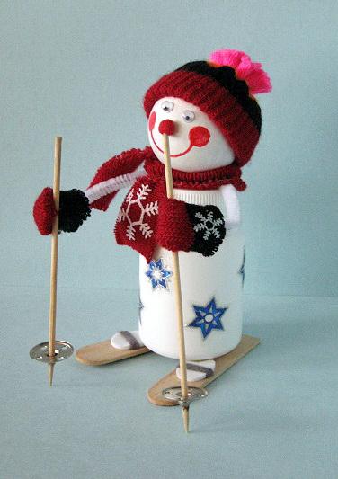 Большие снеговики своими руками к новому году