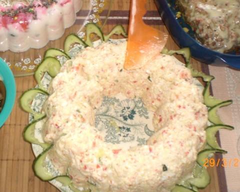 Салат снежные с фото