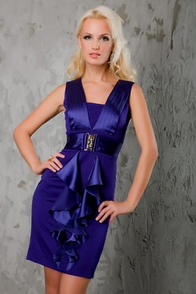 дорогие трикотажные платья