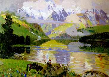 Первый пейзажист сибири чорос гуркин