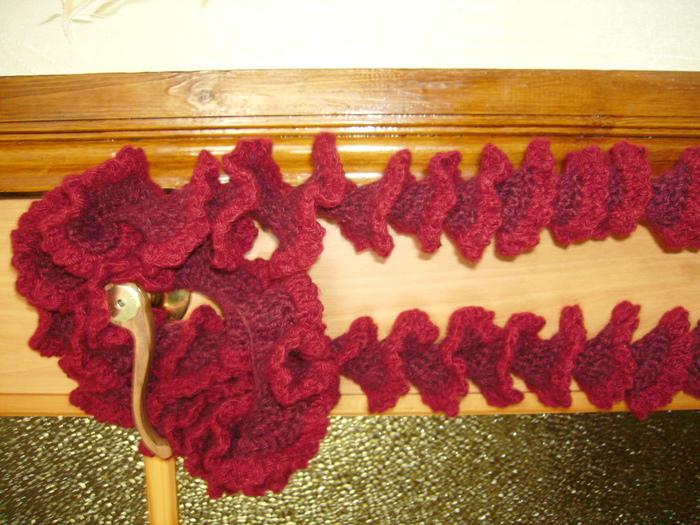 вязание крючком шарф спираль - Выкройки одежды для детей и взрослых.