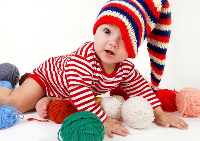 Вязание детских вещей в контакте