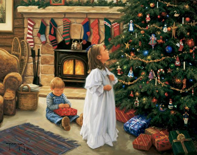 Художники для детей к новому году