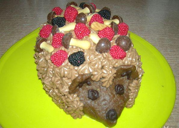 Рецепты тортов без выпечки ежик