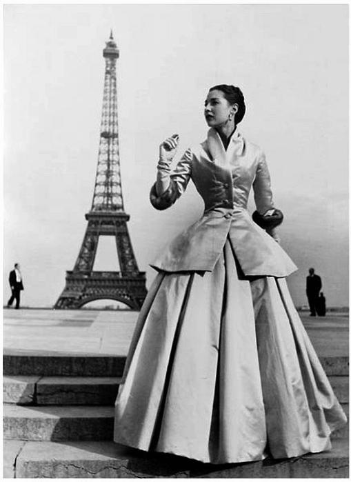 Винтажная одежда для кукол: Miss Virginia Lachasse.