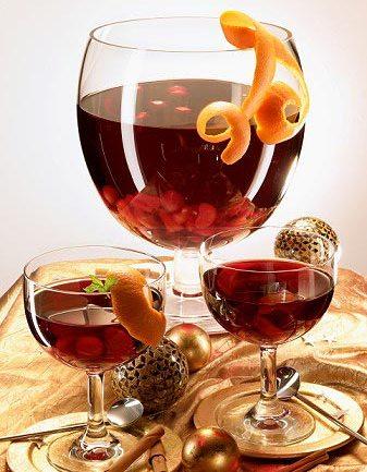 Выпить приятный согревающий напиток.