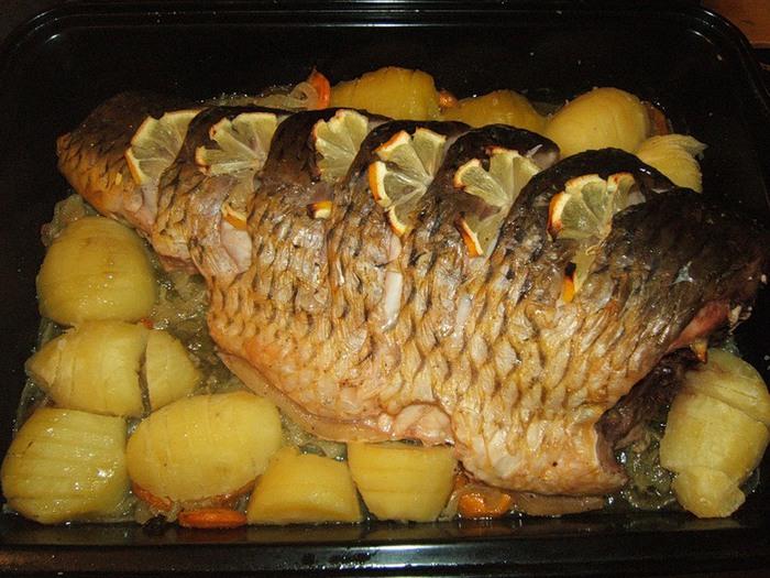 фаршированная рыба рецепты с фото