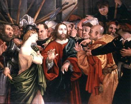 Христос и грешница london private collection bonhams