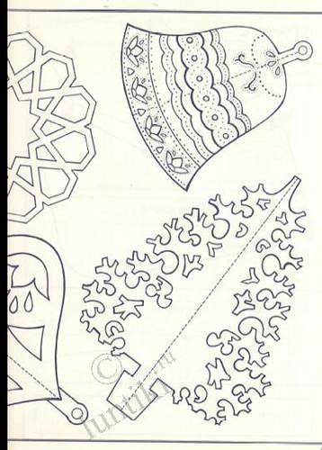Объёмные поделки из бумаги схемы на новый год