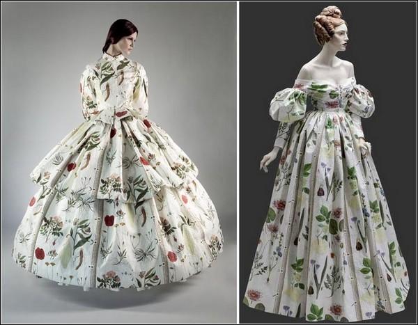 Женское платье 19 века картинки