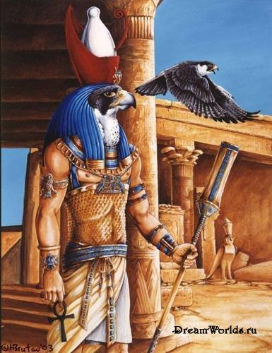 Самым могущественным божеством Египта был сокол.
