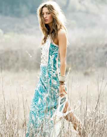 Missoni.  Хиппи-шик летом.  Мода и комфорт совместимы.
