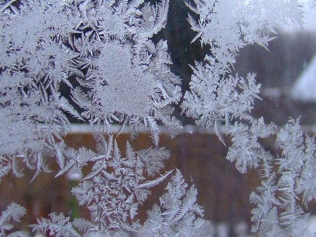 Мороз на окне своими руками