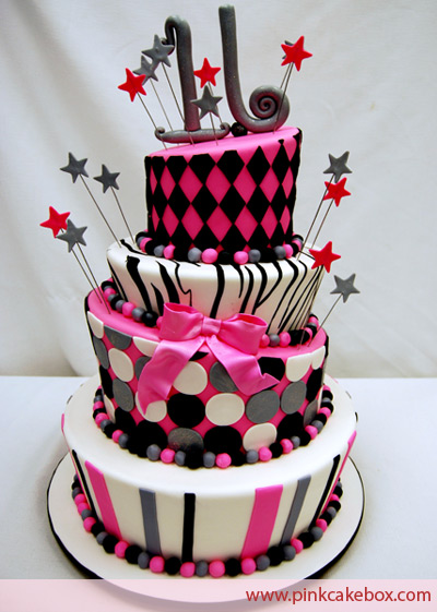 Birthday Cakes Lover: Sweet 16 Birthday Cakes