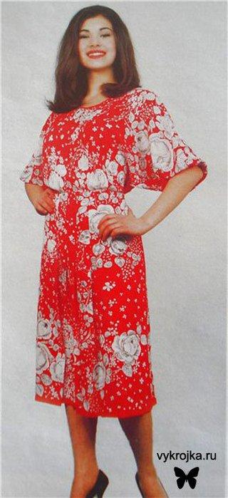 Самой сшить домашнее платье. выкройка сарафана для офиса.