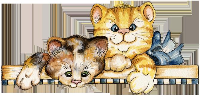 Шаблоны фоны для презентаций котята