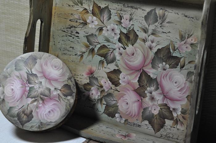 Татьяна кудрявцева роспись в один мазок