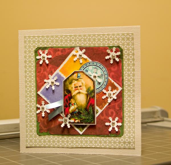 P.S. Очень волнуюсь.  Скрап бумага, дырокольные снежинки со стразами, распечатки. http://rus-scrap.ru/forum/konkursyi...