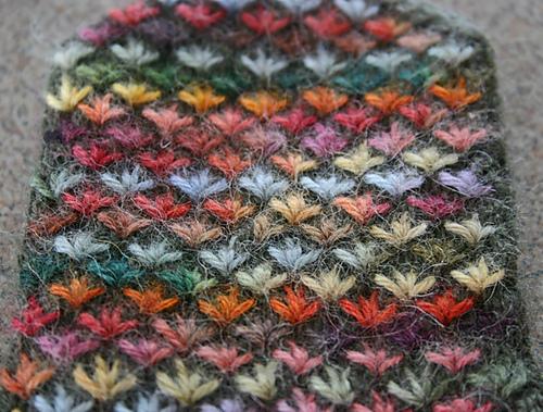 Вязание из трёх цветов 16