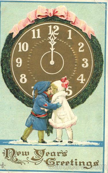 Новый год бой часов раздастся вскоре