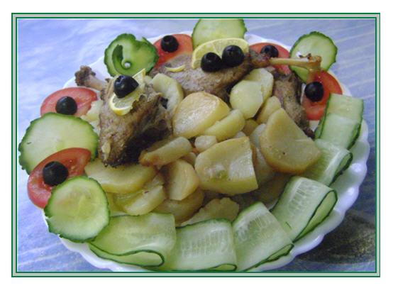 рецепты вырезки с картофелем в духовке