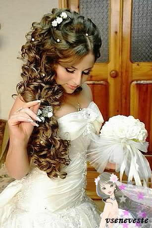 самые красивые прически для невест фото