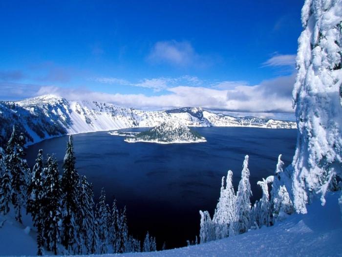 Зимний пейзаж 2 класс