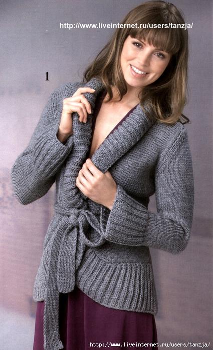 Вязание присутствуют также в разделах: схема вязания пончо с прорезями для рук грубой вязки и вязание спицами модели...