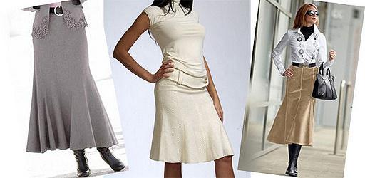 юбка годе с клиньями выкройка