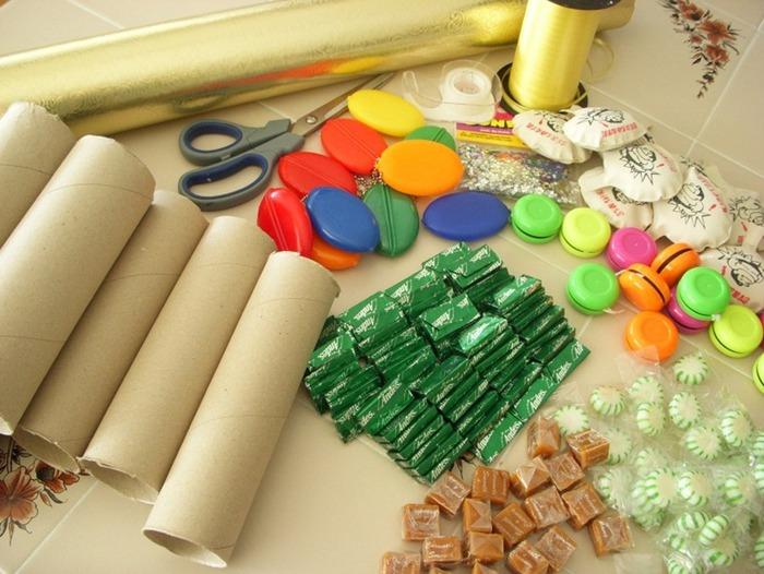Как сделать подарки конфеты