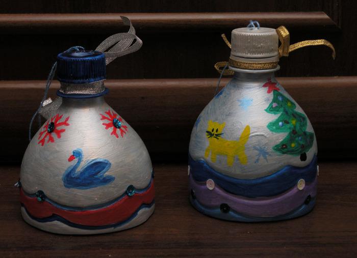 Как сделать колокольчики с пластиковой бутылки