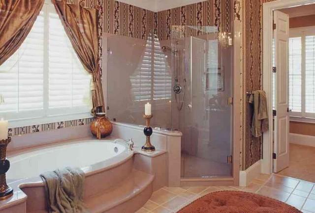 дизайн комнаты в готик-стиле.