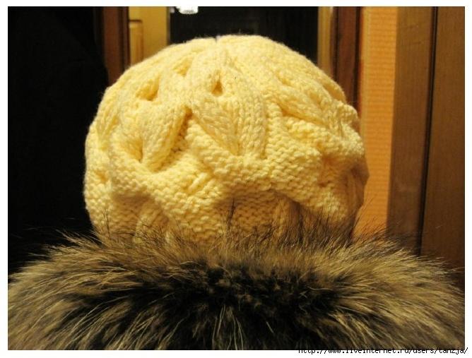 ...также в архивах: вязание шарф хомут и шапку женскую связать схема.