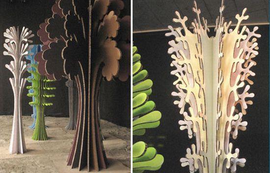 Как сделать объемные деревья из бумаги своими руками 27