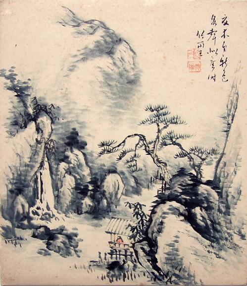 """Предпросмотр - Схема вышивки  """"Японский пейзаж """" - Схемы автора  """"Karina36..."""
