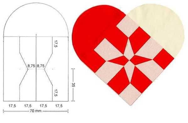 Сердечки сделанные своими руками из бумаги
