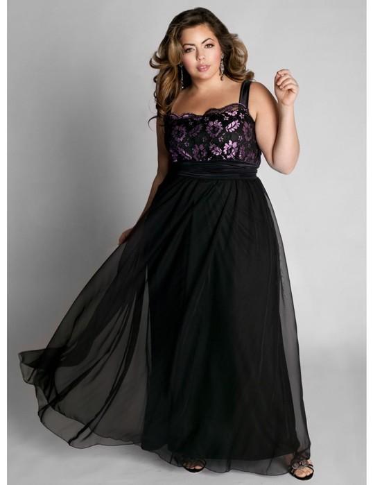 Мы подобрали лучшие модели вечерних платьев. для полных женщин.