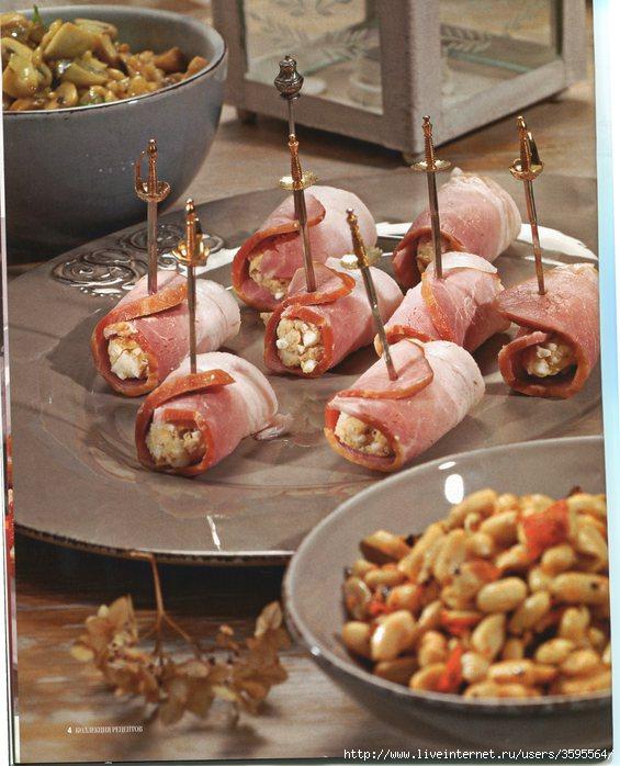 кулинарные рецептики с фото салатиков и закусок