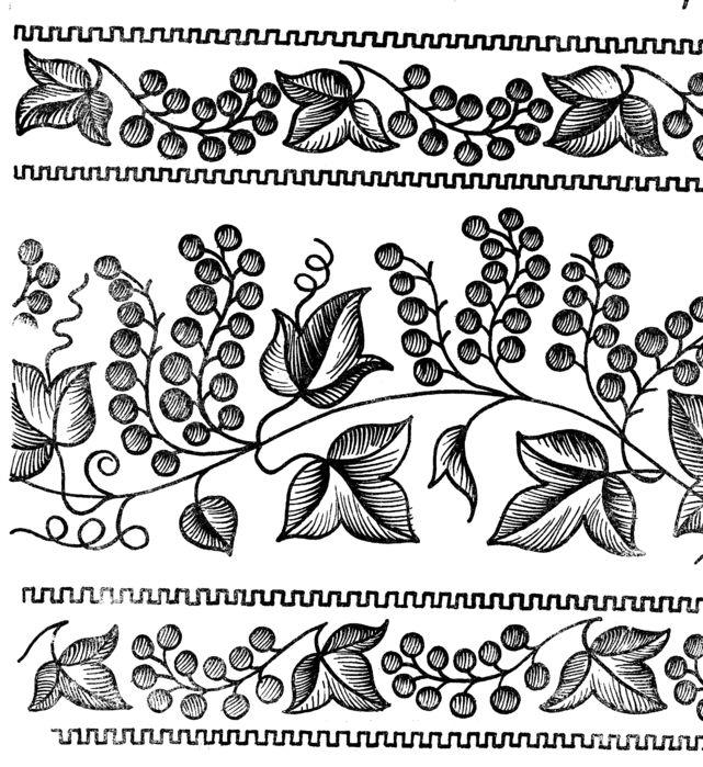 Вышивка крестиком и гладью - схема вышивки для начинающих, схема.