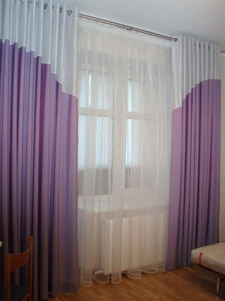 Как сшить шторы выкройки с люверсами 6