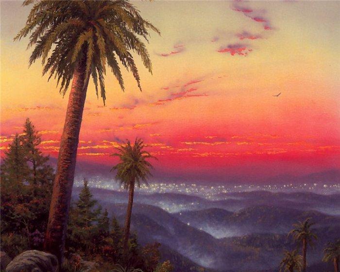 Томас Кинкейд (Thomas Kinkade) (132 картины) .