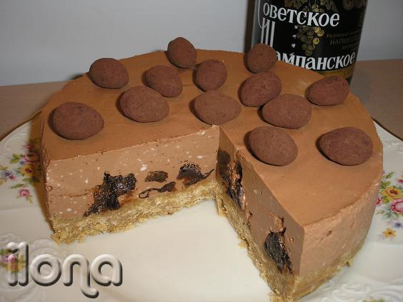 Шаколадные торты без выпечки с фото