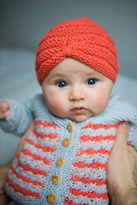Все о вязании: Шапочка Чалма Схема Вязки