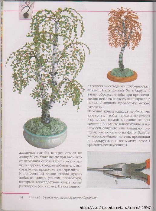 Как сделать дерево любви из бисера схема - Russkij-Litra.ru