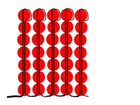 Учимся вязать ТУРЕЦКИЙ ЖГУТ.  Полезные ссылки - по бисероплетению.  Часть 2 - Учимся делать цветы из бисера Часть 3.